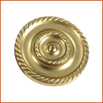Brass Curtain Holdback (H-1522)