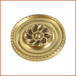 Brass Curtain Holdback (H-1523)