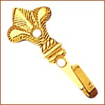 Brass Curtain Hook (H-1723)