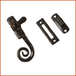Antique Casement Fastener Curly (H-3016)