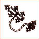 Antique Door Chain (H-3069)